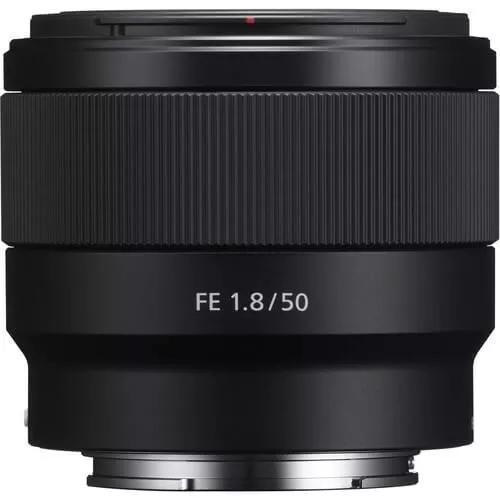 Lente sony fe 50mm f/1.8 e-mount full frame (sel50f18f) sony