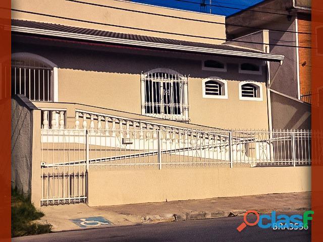 Bra3556 casa comercial com 2 pavimentos e edícula, em várzea paulista sp