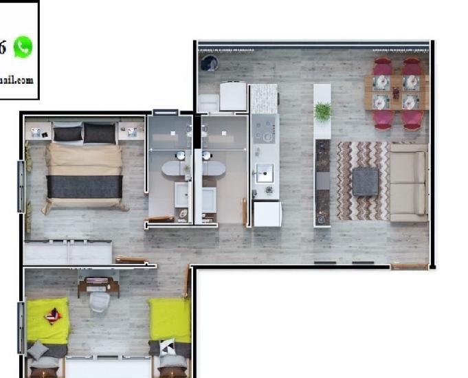 Apartamento em Suzano 2 Dorm próx. ao centro