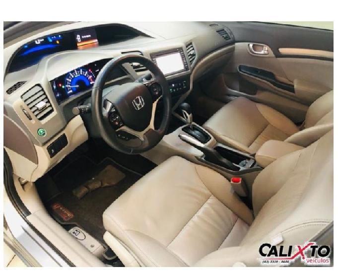 Civic 1.8 exs automático 2012 - procedencia