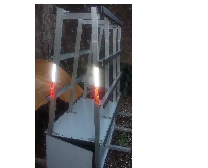 Cavalete, rack, suporte, transporte, vidros, vidraçaria