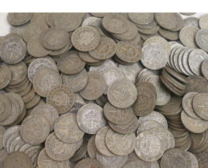 Compro moedas antigas de 1871 até 1958-acima de 10 quilos