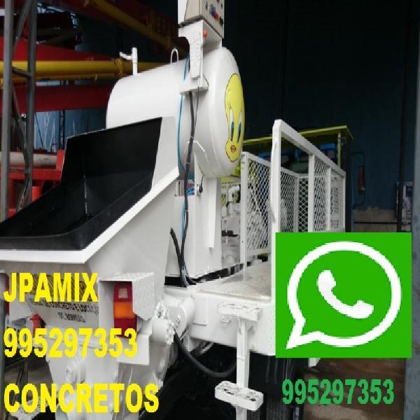 Concreto bombeado concreto usinado jpamix bangu realengo