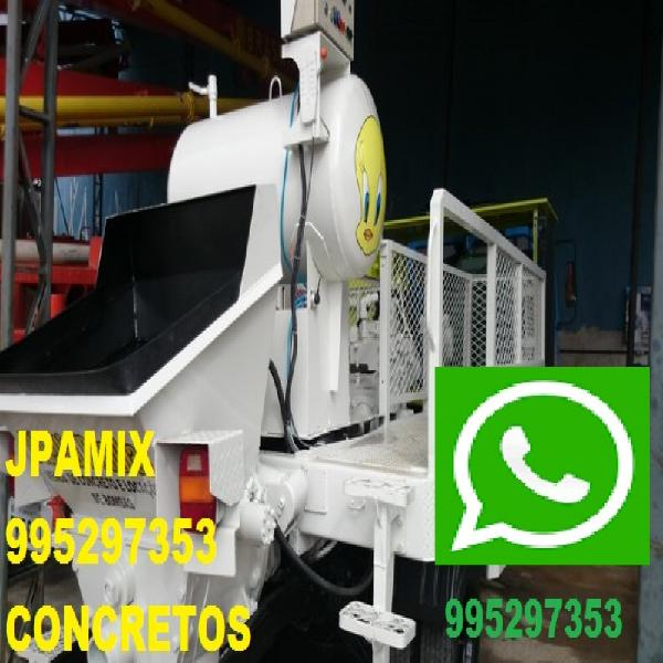 Concreto bombeado concreto usinado jpamix guaratiba campo