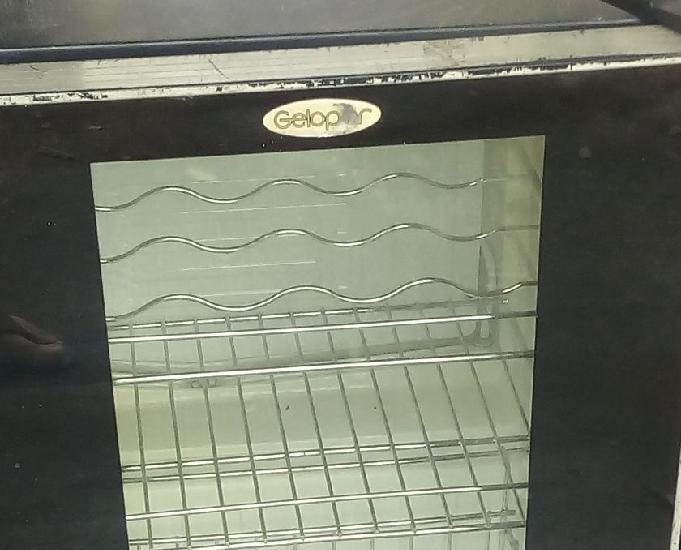 Frigobar Gelopar 72L - Porta de Vidro