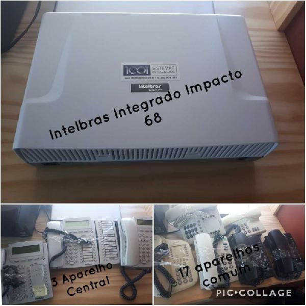 Vendo central telefônica intelbras sistema integrado