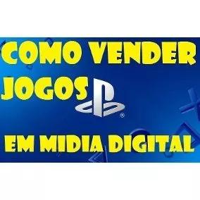Aprenda a vender jogos de midia digital ps3 e ps4!!