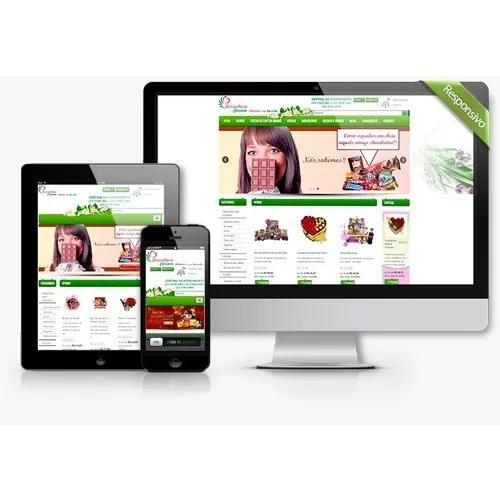 Criação de sites responsivo, one page profissional html