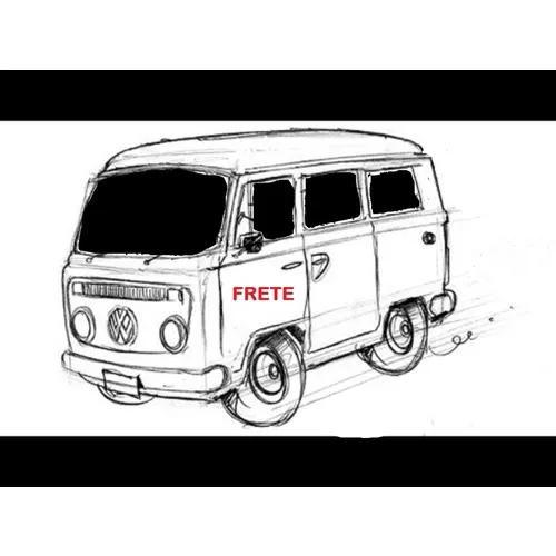 Frete - mudança - transporte - kombi - aluguel