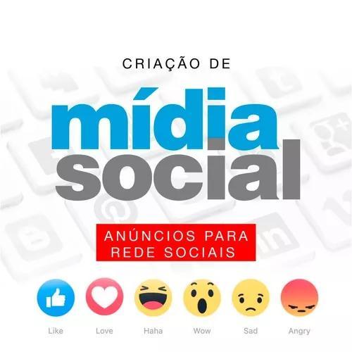 Mídia social anúncios para facebook e instagram