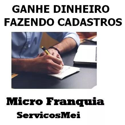 Micro-franquia serviços ao micro