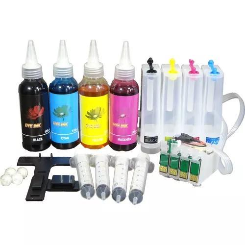 Bulk-ink tx135 tx125 tx123 tx133 t25 completo + 400 ml tinta