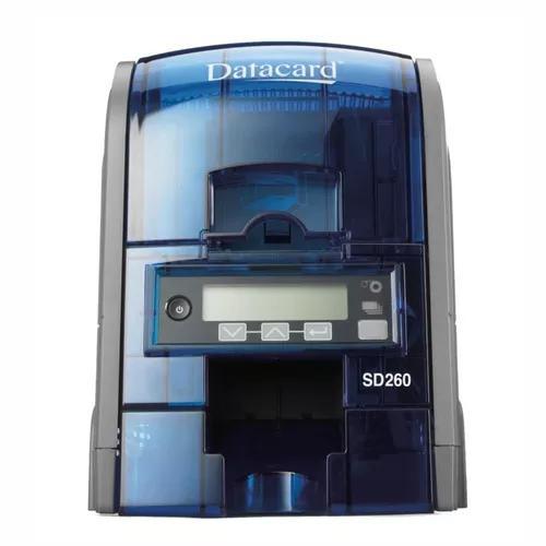 Impressora datacard sd260 simplex para crachás de pvc *