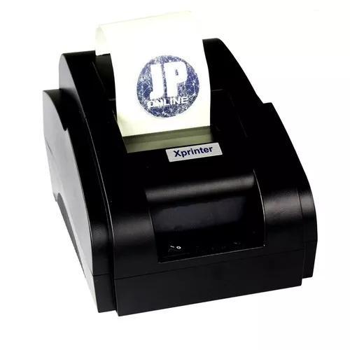 Impressora térmica ticket de cupom 58mm + 10 bobina