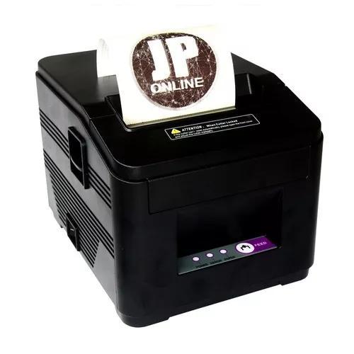 Kit impressora térmica ticket de cupom 80mm + 10 bobina