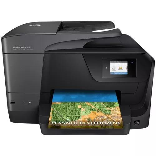 Multifuncional hp officejet pro 8710 wifi fax scaner bivolt