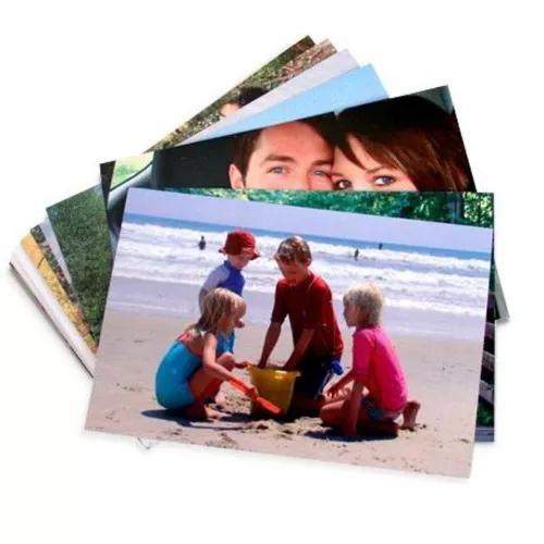Papel fotografico 230g 10x15 800 folhas branco brilhoso