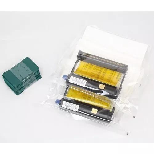 S420 hiti - papel ribbon 100 fotos e carteirinhas 3x4