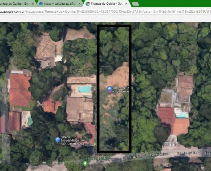 Terreno a venda em jacarepaguá (freguesia)