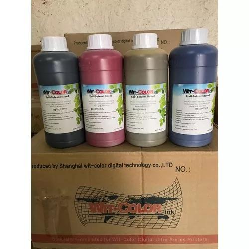Tinta eco solvente dx4 dx5 e dx7 kit com 10 litros