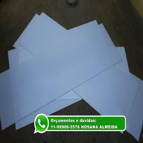 Chapa placa branca leitosa para luminária e teto de