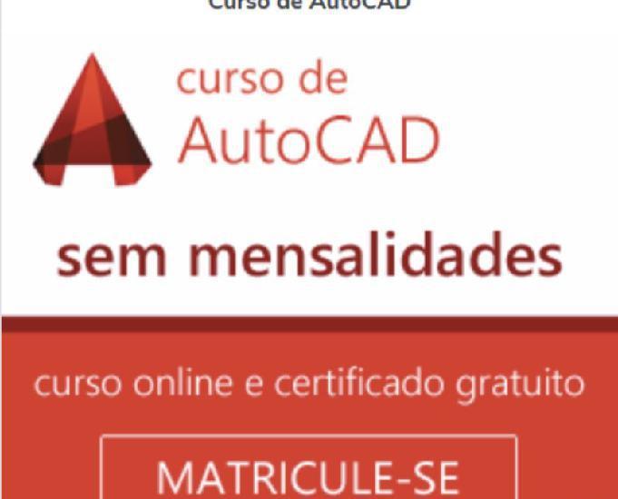 Curso de autocad online - com certificado de conclusão