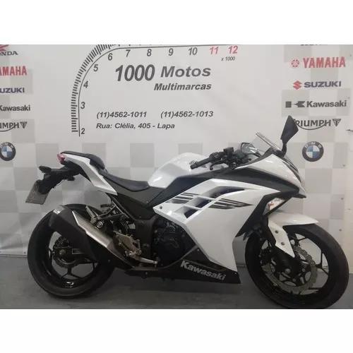 Kawasaki ninja 300 2017 otimo estado aceito moto