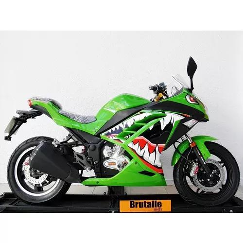 Moto eletrica speed v20 verde