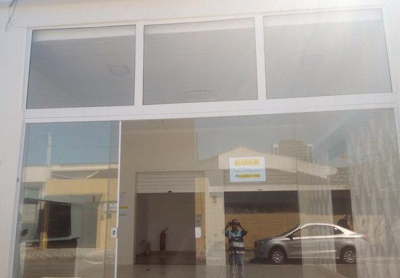 Aluga-se (loja com 107m²) boqueirão - praia grande/sp