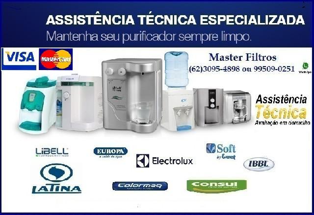 Master filtros assistencia purificadores