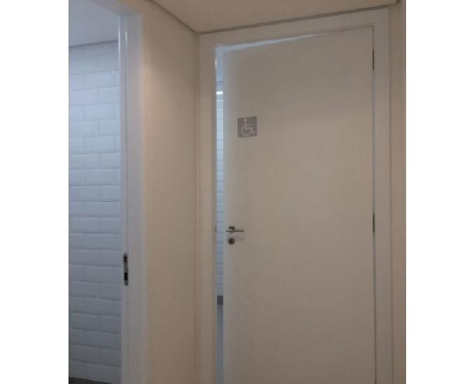 Conjunto comercial com 75 m² para locação vila olímpia,