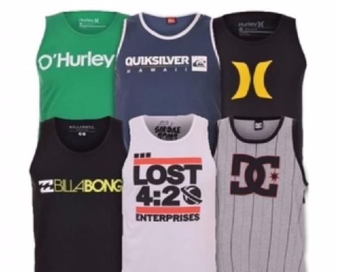 10 camisetas regatas surf atacado - 10 peças revenda 85abe31de8f