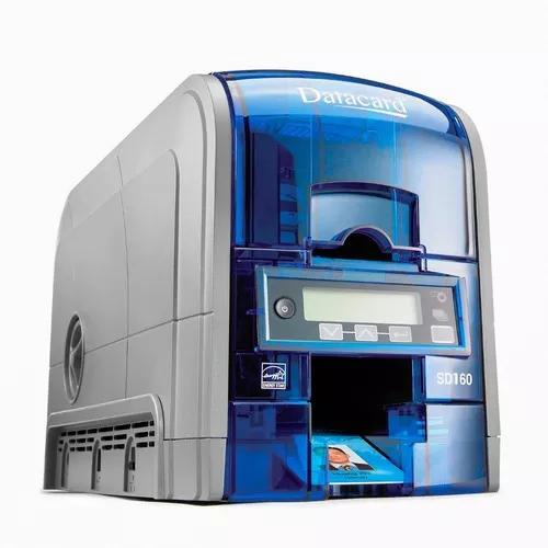Impressora datacard sd160 simplex * para crachás de pvc