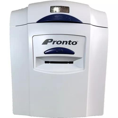 Impressora de cartões de pvc magicard pronto *