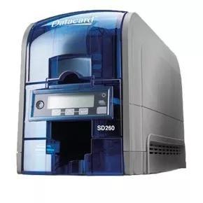 Impressora de cartão pvc datacard sd360 +1 ribbon color