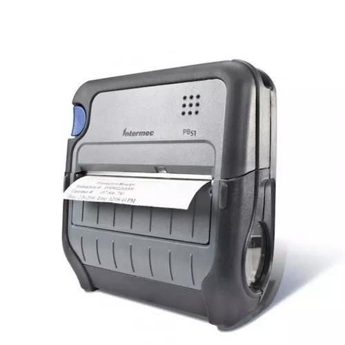 Impressora De Etiquetas Portátil Intermec Pb51 203dpi
