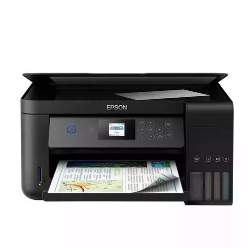 Impressora epson l4160 ecotank scanner wifi frente verso