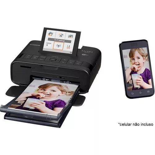 Impressora fotográfica canon selphy cp1300 c/ wifi