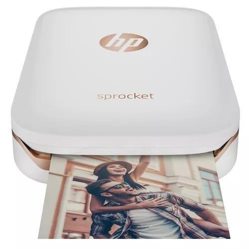 Impressora fotográfica compacta hp sprocket 100