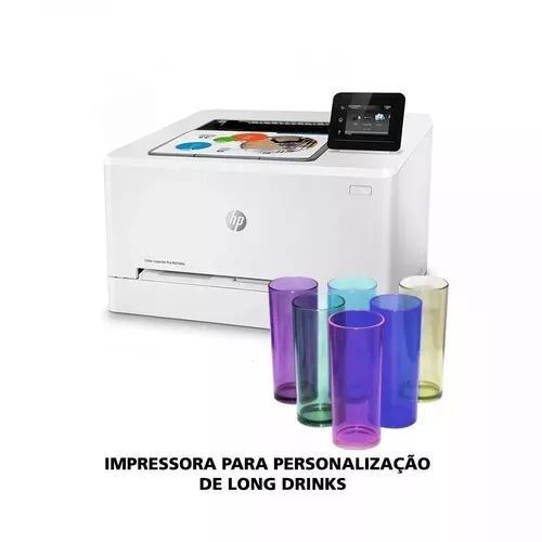 Impressora hp m254dw laser colorida transfer - 110v