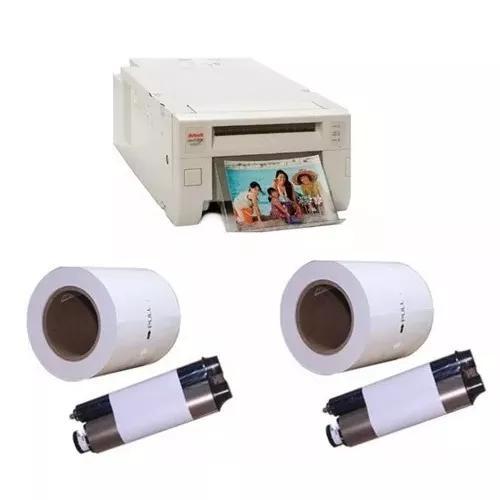 Impressora kodak 305 + 2 rolos de papel e ribbon