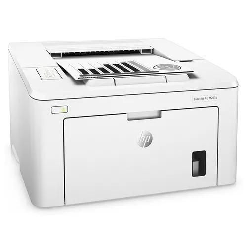 Impressora original laserjet pro hp m203dw - 110volts