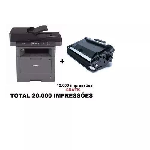 Multifuncional brother dcp-l5652dn l5652 + toner extra 12k