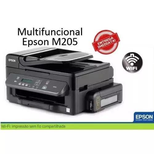 Multifuncional epson m205 ecotank monocromática wi-fi