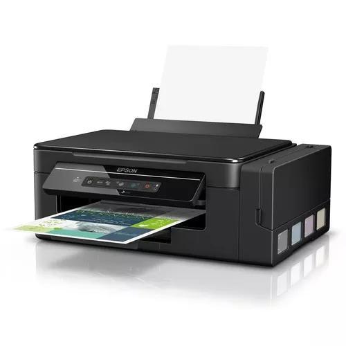 Multifuncional epson tanque de tinta l396 imp/copia/scan wf