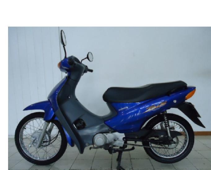 Biz 100 ks 2003 azul motinho bem boa só pegar e andar