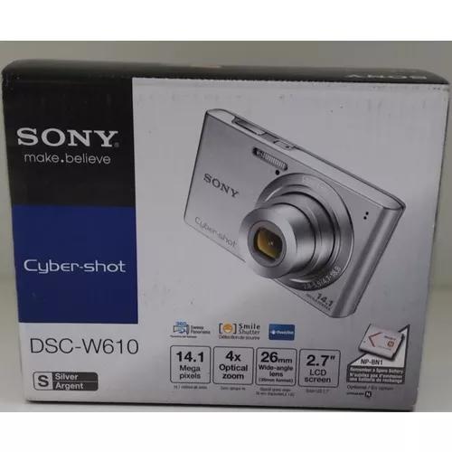 Camera sony w610 prata