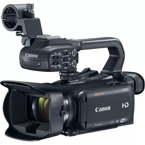 Câmera canon de vídeo profissional ultracompacta xa30