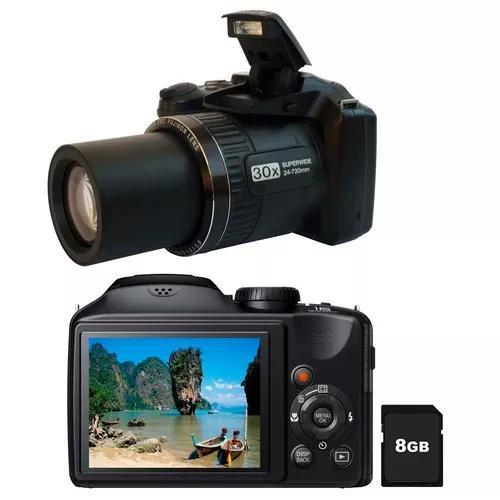 Câmera digital fujifilm finepix s4800 preto zoom óptico