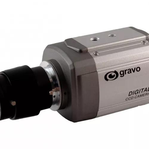 Câmera profissional gcd-6000 - gravo